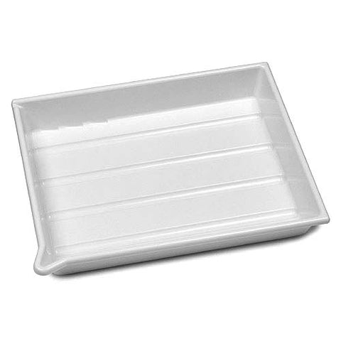 "AP - NTR323100 - Developing tray 20x25cm (8""x10"") - White"