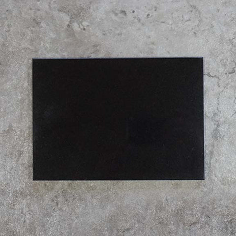 5x7 mongolian black granite
