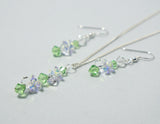 Cluster Earring and Necklace Sets