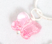 Children's Rose Butterfly Necklace