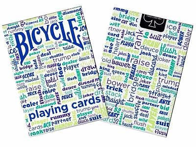 Bicycle Table Talk Deck - Blue