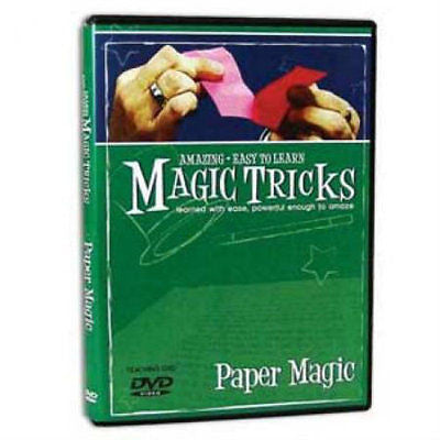 Amazing Easy to Learn Magic Tricks - Paper Magic