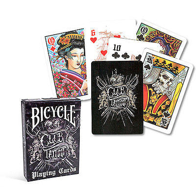 Bicycle Club Tattoo Deck