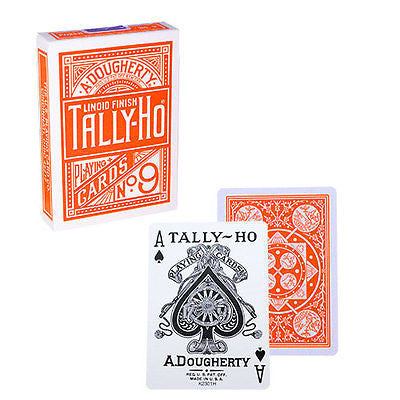 Tally Ho Fan Back Deck - Orange