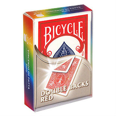 Bicycle Double Back Deck - Red