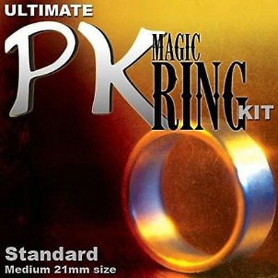 PK Magic Ring Kit - 19mm Small Sized Silver Ring