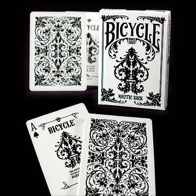 Bicycle Nautic Deck - White