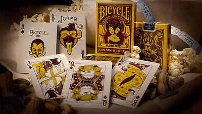 Bicycle Side Show Freaks Deck