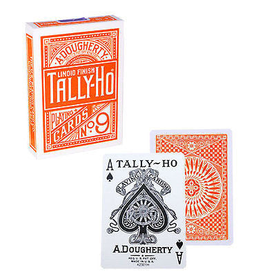 Tally Ho Circle Back Deck - Orange