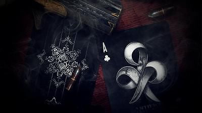 Ellusionist Artifice Deck - Black - Black Club Playing Cards