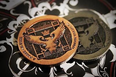 Ellusionist Half Dollar Size Artifact Coin - Copper