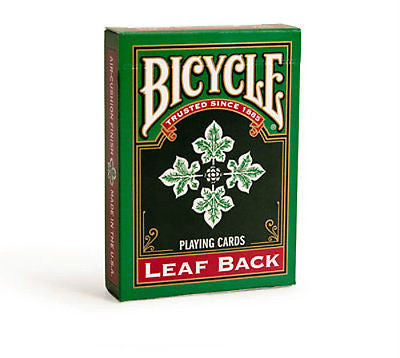Bicycle Leaf Back Deck - Green