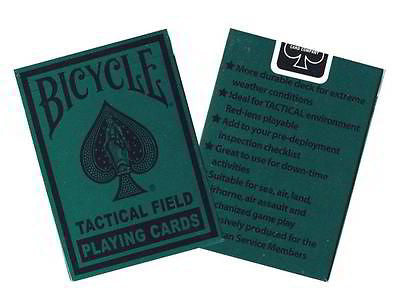Bicycle Tactical Field Deck