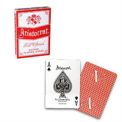 Aristocrat V Deck - Red