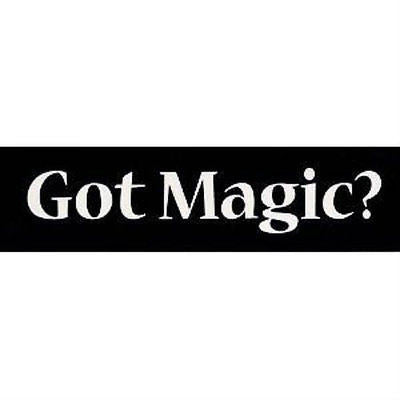 Got Magic? Sticker