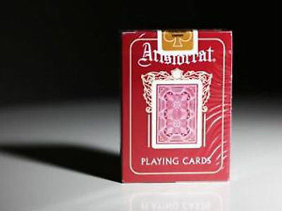 Aristocrat 727 Bank Note Deck - Red