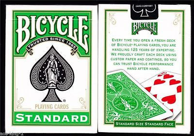 Bicycle Green Deck - Standard