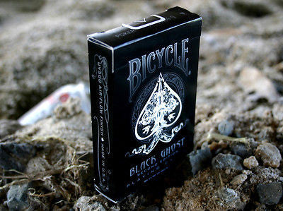 Ellusionist Bicycle Black Ghost Deck - 2nd Edition