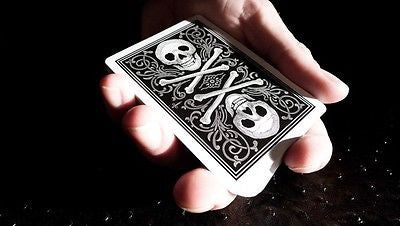 Bicycle Skull and Bone Deck - Black