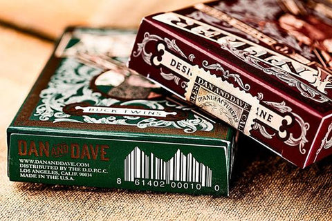 Antler Playing Cards - Green - Limited Edition