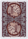Antler Playing Cards - Maroon - Limited Edition