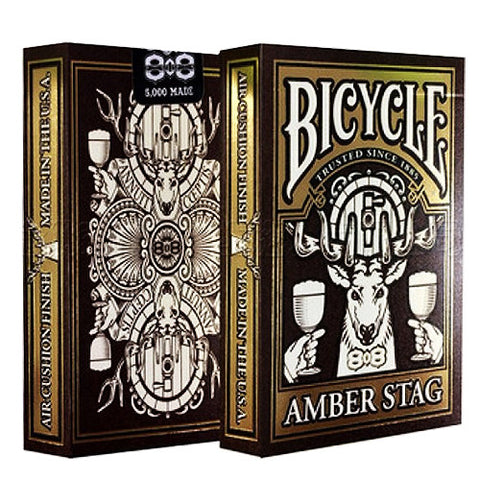 Bicycle Amber Stag Deck