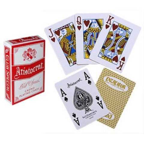 Aristocrat Casino Excalibur II Deck - Jumbo Index
