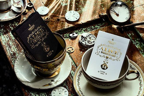 Alice in Wonderland Deck - Black - Cardistry Edition