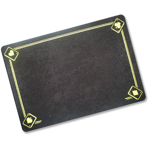 Black Magicians Mat - Printed with Aces - Large
