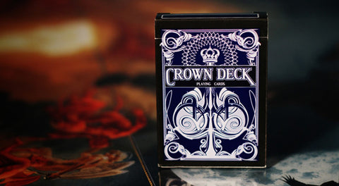 Blue Crown Deck - House of Playing Cards