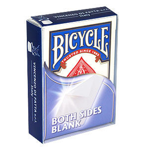 Bicycle Both Sides Blank Deck