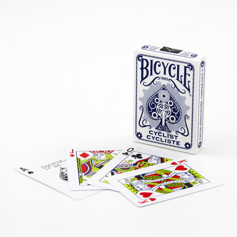 Bicycle Cyclist Deck - Blue