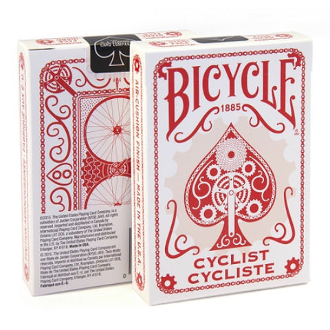 Bicycle Cyclist Deck - Red