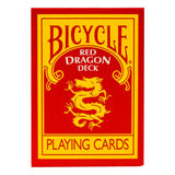 Bicycle Red Dragon Deck