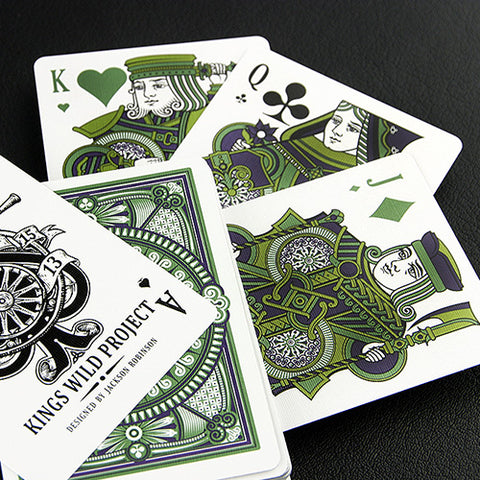 Tally Ho Emerald Deck - White Edition