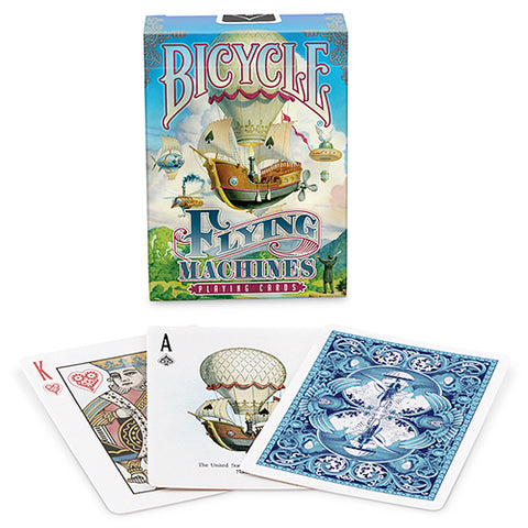 Bicycle Flying Machines Deck