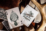 Antler Playing Cards - Green