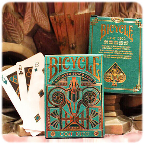 Bicycle Goat Deco Deck