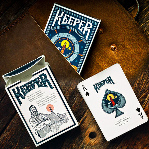 Keeper Playing Cards - Blue