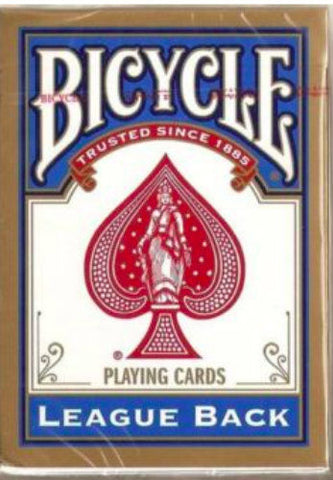 Bicycle League Back - Blue