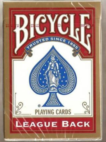 Bicycle League Back - Red