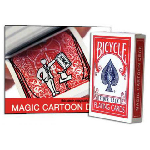 Bicycle Magic Cartoon Deck