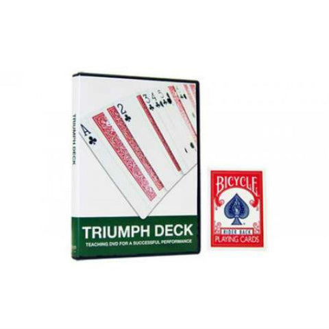 Bicycle Triumph Deck - Includes Teaching DVD