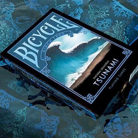 Bicycle Natural Disasters Deck - Tsunami