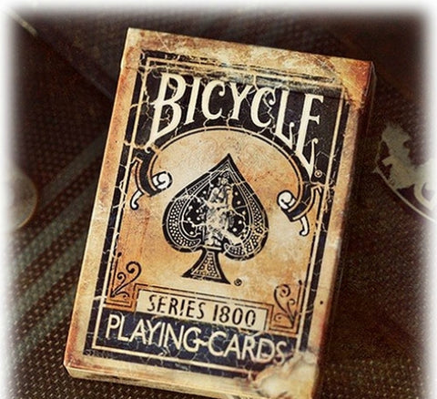 Ellusionist Bicycle Vintage 1800 Deck - Blue