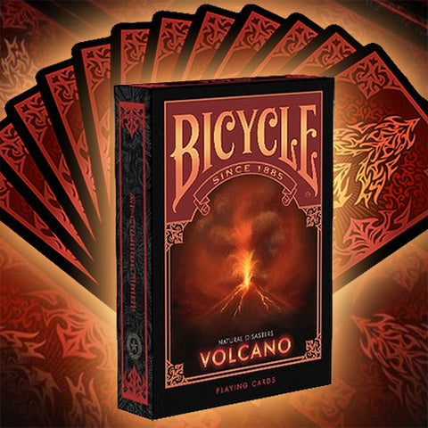 Bicycle Natural Disasters Deck - Volcano