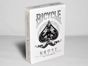 Bicycle White Ghost Deck - Ellusionist