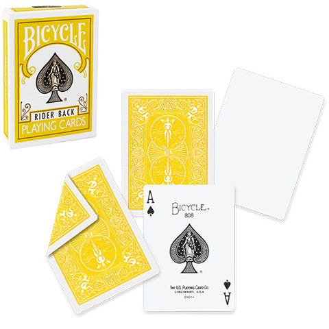 Bicycle Yellow Deck