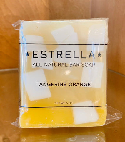 Tangerine Orange Soap