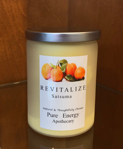 Revitalize Satsuma Candle